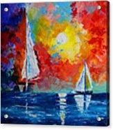 Sunset Bay Acrylic Print