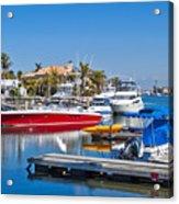 Sunset Beach Bolsa Bay Acrylic Print