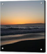 Sunset Beach California Acrylic Print