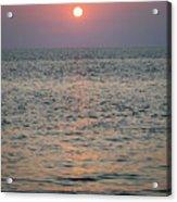 Sunset Beach Cape May New Jersey Acrylic Print