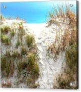 Sunset Beach Dune Path Acrylic Print