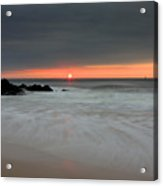 Sunset Before The Storm Acrylic Print