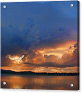 Sunset Blues Acrylic Print