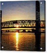 Sunset Bridge 1 Acrylic Print