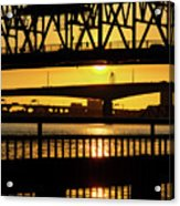 Sunset Bridge 2 Acrylic Print