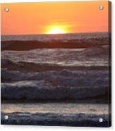 Sunset Cannon Beach Acrylic Print