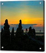 Sunset Castles Acrylic Print