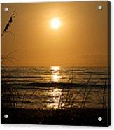 Sunset On Barefoot Beach Acrylic Print