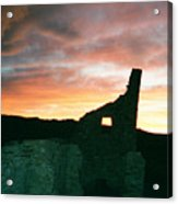 Sunset Chaco Canyon Acrylic Print