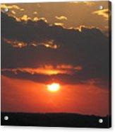sunset CLO 108 Acrylic Print