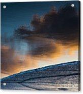 Sunset Clouds Reflect Acrylic Print
