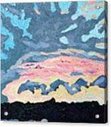 Sunset Cold Front Acrylic Print