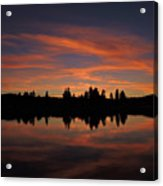 Sunset Colors Acrylic Print