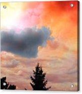 Sunset Colors Acrylic Print