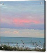Sunset Colors To The South Acrylic Print