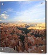 Sunset Colours Bryce Canyon 2 Acrylic Print