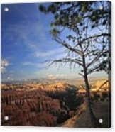 Sunset Colours Bryce Canyon 3 Acrylic Print