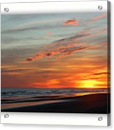 Sunset Complete Acrylic Print