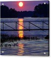 Sunset Cruise Acrylic Print
