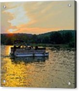Sunset Cruising Acrylic Print