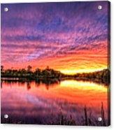 Sunset Culpeper Va Acrylic Print