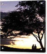Sunset Date Night Acrylic Print