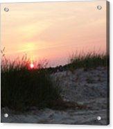 Sunset Dewey Beach Acrylic Print
