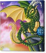 Sunset Dragon Acrylic Print