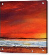 Sunset Dreamin Acrylic Print