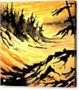 Sunset Extreme Acrylic Print