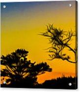 Sunset Fantasy Acrylic Print