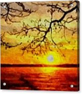 Sunset For Abigail Browne H B Acrylic Print