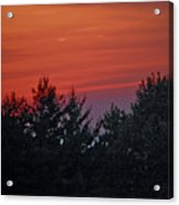 Sunset From Bear Path Acrylic Print