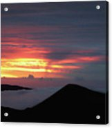 Sunset From The Observatory Acrylic Print