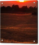 Sunset Gate Acrylic Print