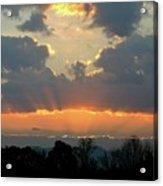 Sunset Glory Acrylic Print