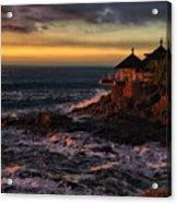 Sunset Hdr Acrylic Print