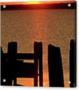 Sunset Hecla Island Manitoba Canada Acrylic Print
