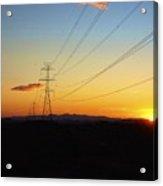 Sunset Hike 2 Acrylic Print