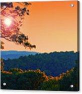 Sunset Hills Acrylic Print