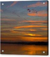 Sunset Hoo England Acrylic Print
