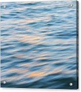 Sunset Hudson River Acrylic Print