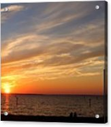 Sunset Huntingon Park Acrylic Print