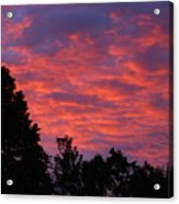 Sunset In Antioch Acrylic Print