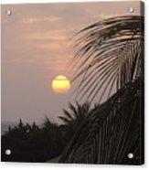 Sunset In Aruba Acrylic Print