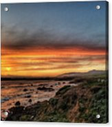 Sunset In Cambria Acrylic Print