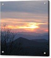 Sunset In Carolina  Acrylic Print