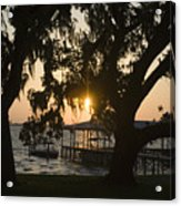 Sunset In Central Florida Acrylic Print