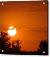 Sunset In Charleston Acrylic Print