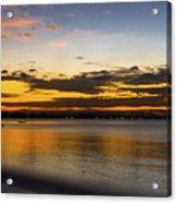 Sunset In Dar Acrylic Print